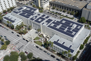 Courthouse solar panels